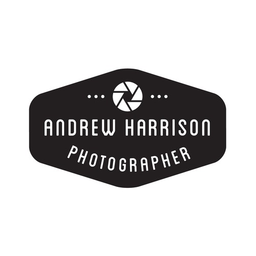 Create a logo for a professional wedding photographer, modern, retro, hipster, vintage