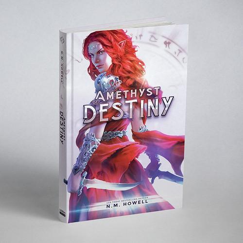 Amethyst of Destiny Book Cover Design
