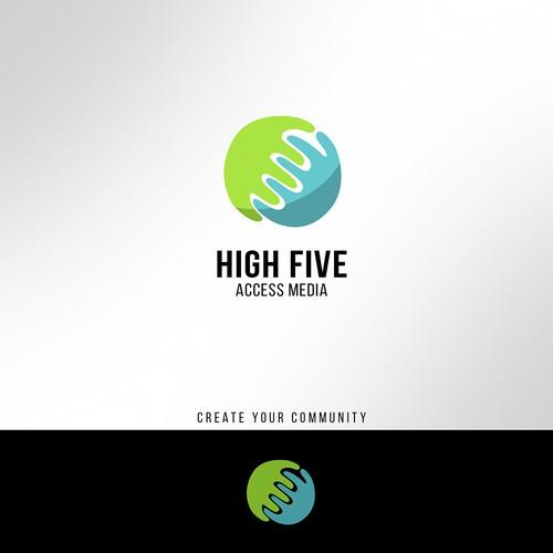 Logo for a new media