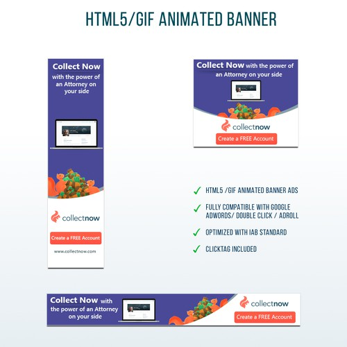Trendy, Out of the box banners