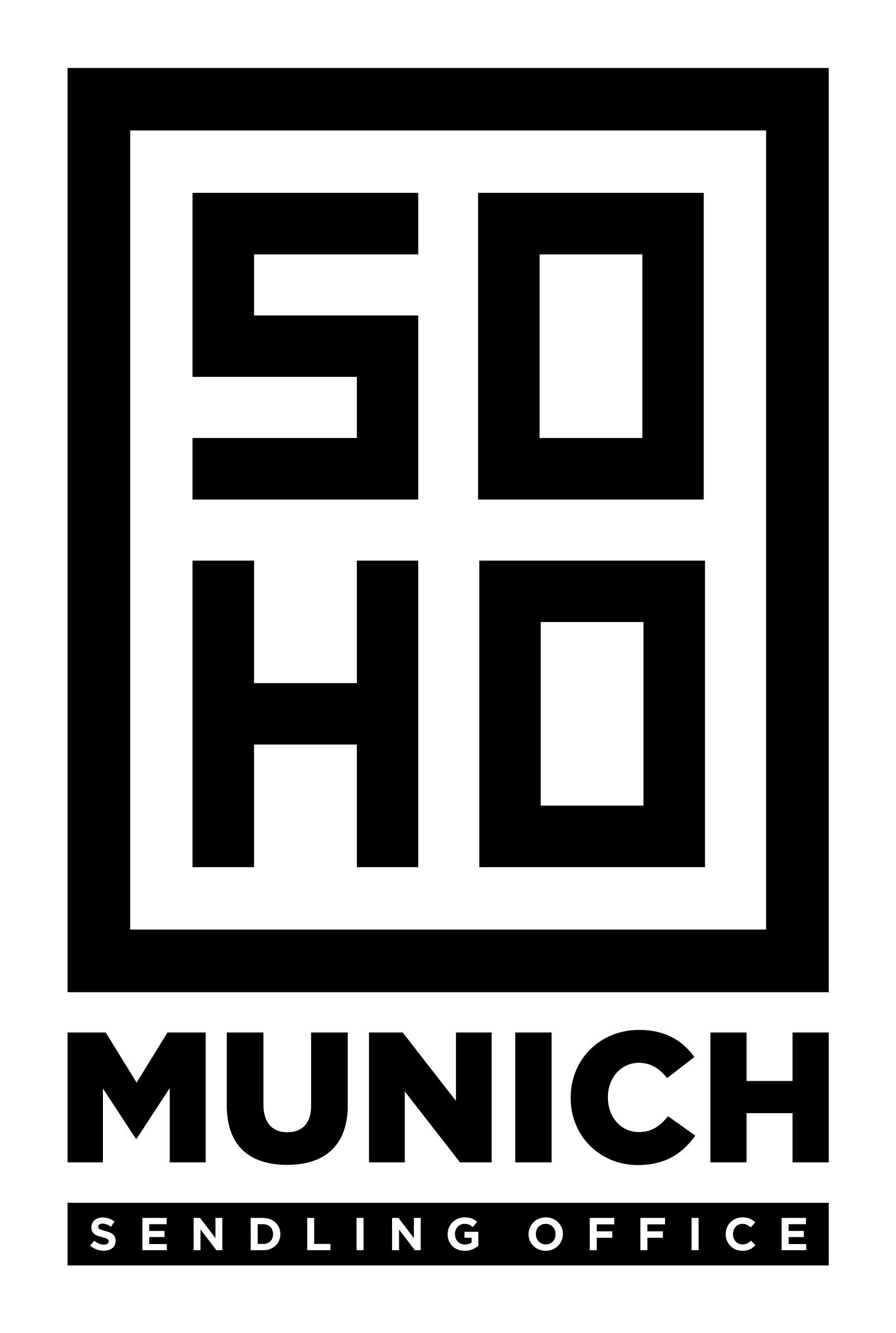 Soho Munich --> Logo for coolest industrial loft office building