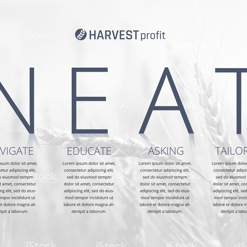 Harvesy Profit Poster Design