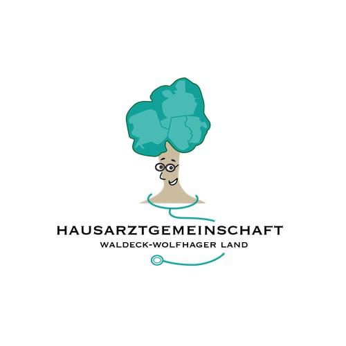 Außergewöhnliches Logo für eine Landarzt-Praxis