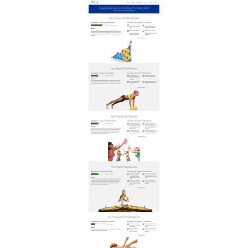 Landing Page - Self Development Course