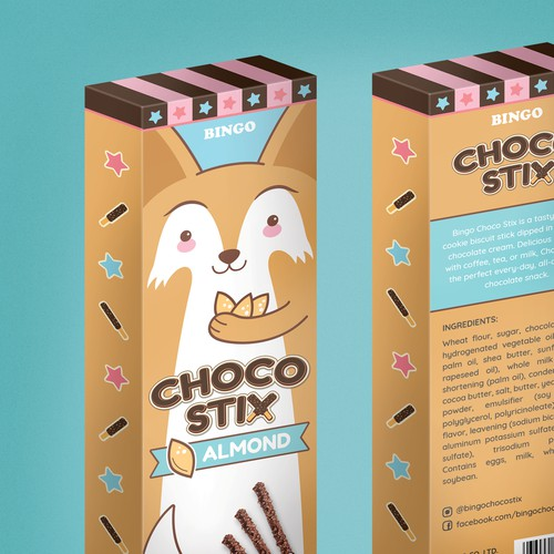 Box Design for Chocolate Snack