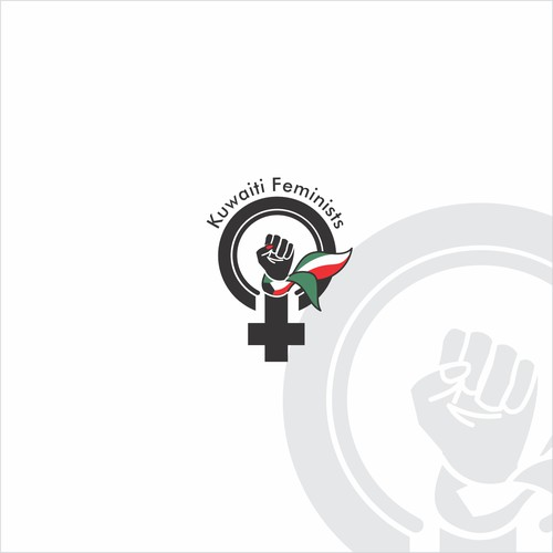Bold logo concept for a feminist organisation