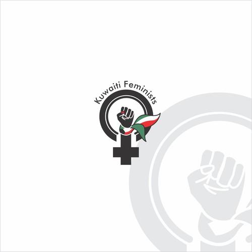 Bold logo concept for a feminist organisation