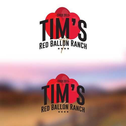 Create a logo for the most unique and badass ranch that has ever existed!