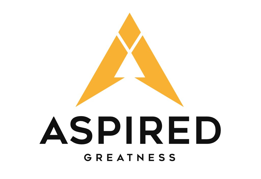 Create a powerful design for Aspired Greatness