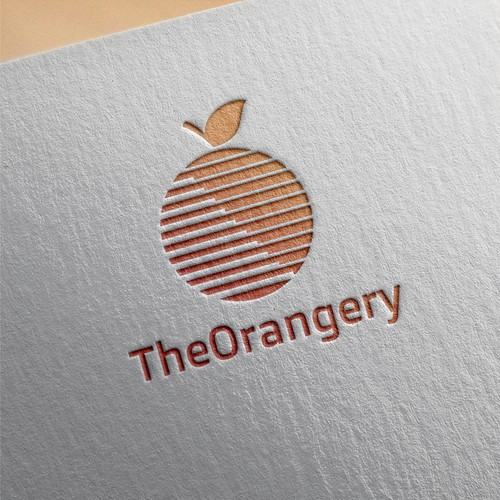 The orangery logo design