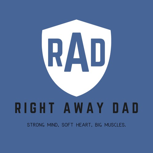 Bold Yet Simple Logo for RAD