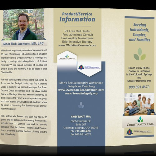 Christian Counsel brochure