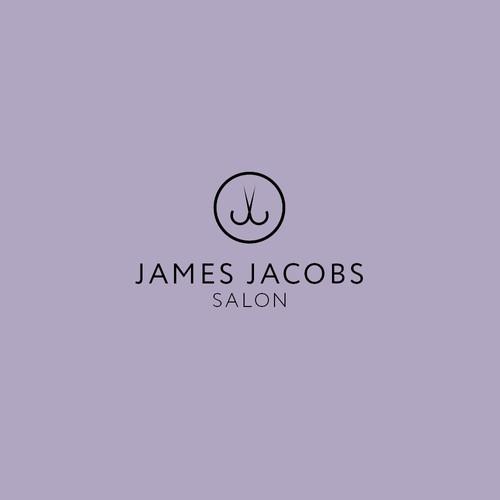 Stylish logo for a hair salon