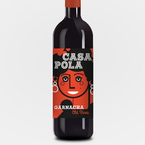 Wine Label Design for Casa Pola