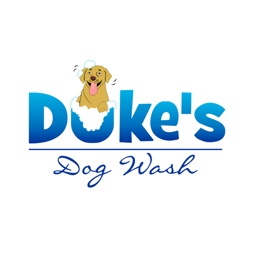 logo for Duke's Dog Wash