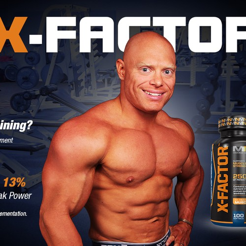 Beef-up Bodybuilding Site Banners