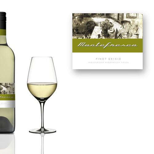 Montefresco - wine label