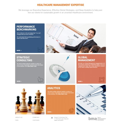 website design for Bolh Management Advisors LLC