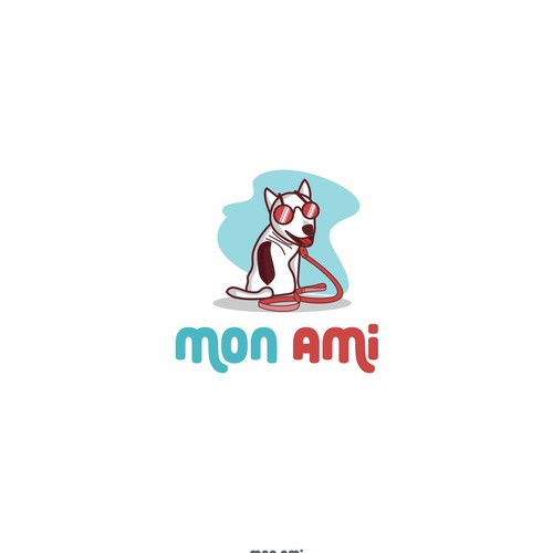 Animal logo concept for mon ami