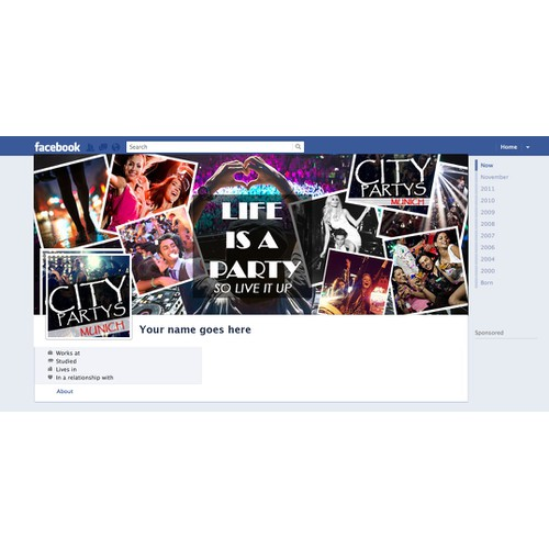 City Partys Facebook cover