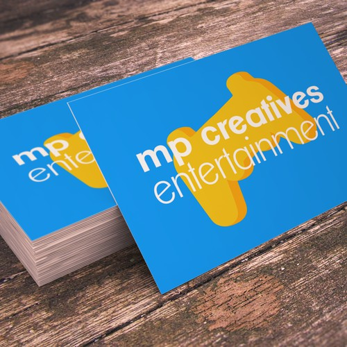 business card for MP Creatives