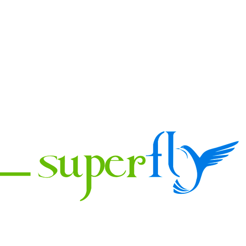 "Logo for superfly.com, ""Mint for Travel""  (consumer travel site)"