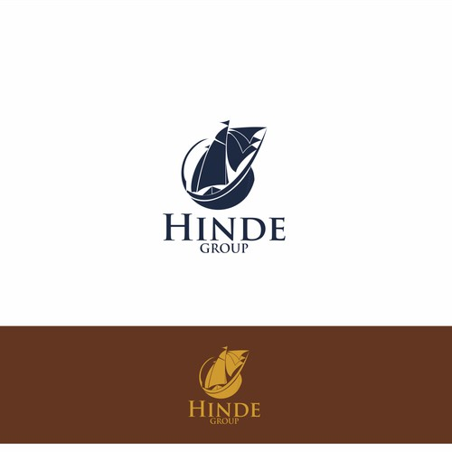 Create a Brand Identity Inspired by Sir Francis Drake's Golden Hinde for an Investment Manager
