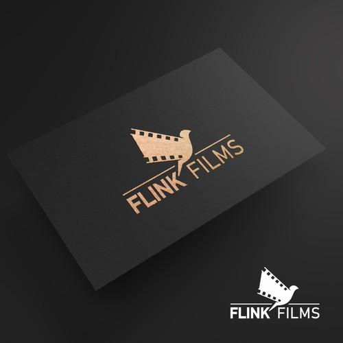 bird wing film logo