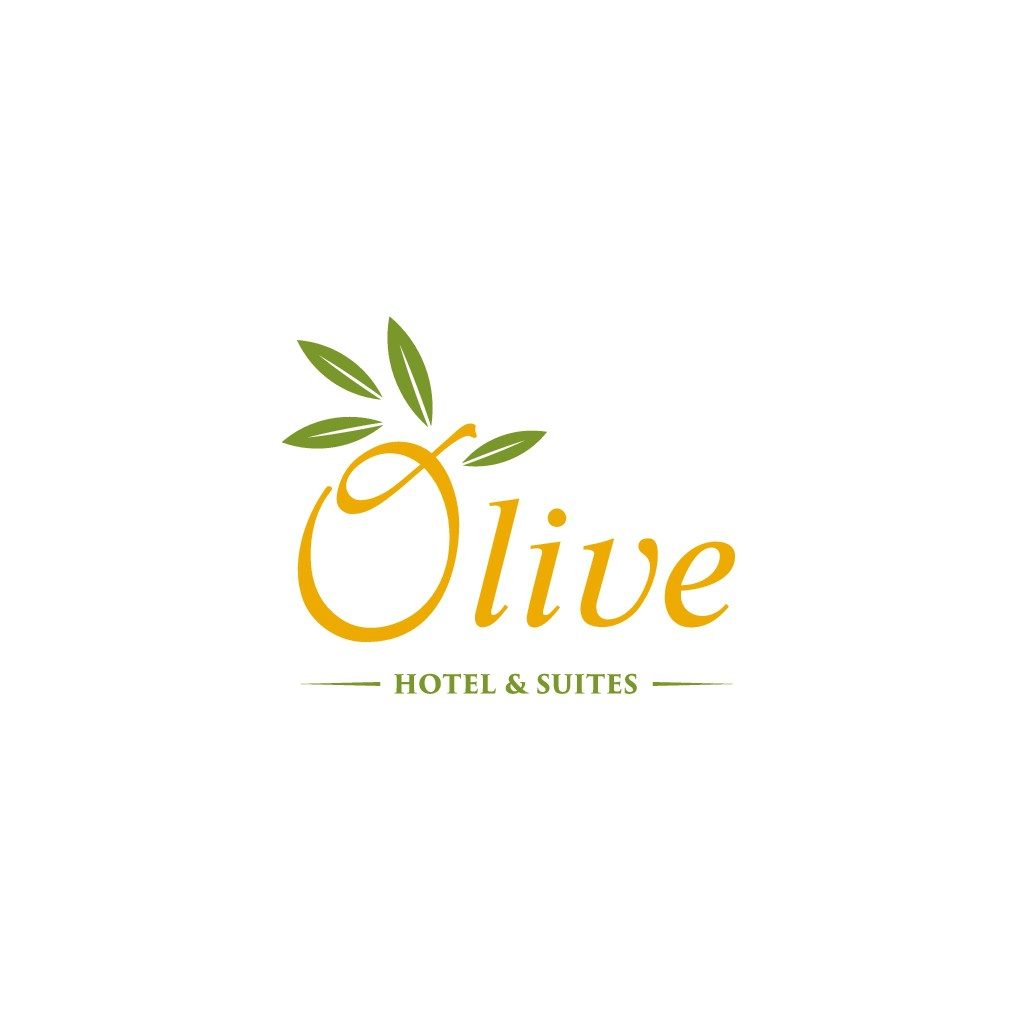 Design a modern logo for Olive Inn & Suites