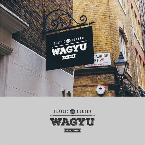Wagyu burger logo