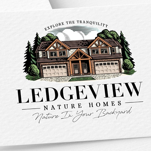 Logo Ledgeview Nature Homes