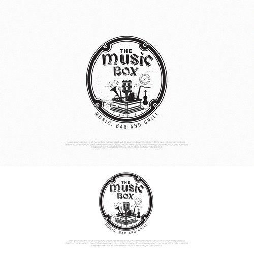 Logo for Music Bar Grill