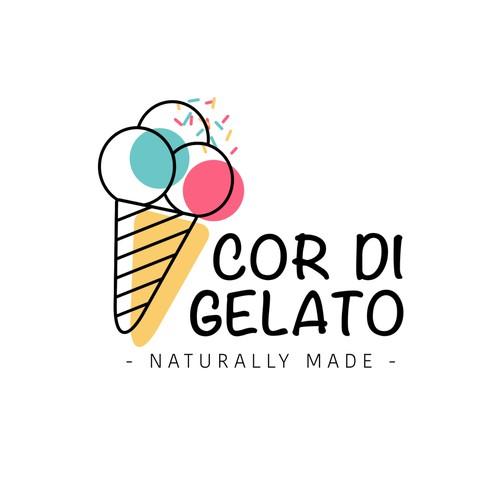 Logo for Cor di Gelato