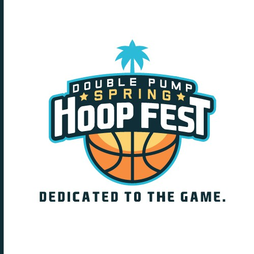 Logo for a Basketball Event: Hoop Fest