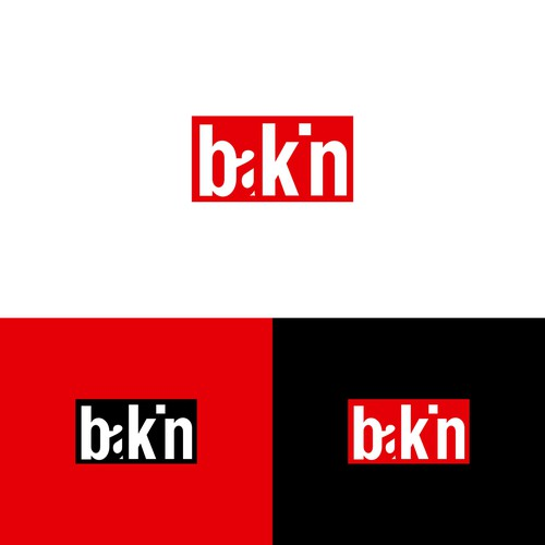 Logo Design for Bakin Streetwear Clothing