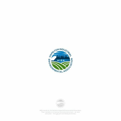Create a Logo for the Hamilton Industrial Environmental Association