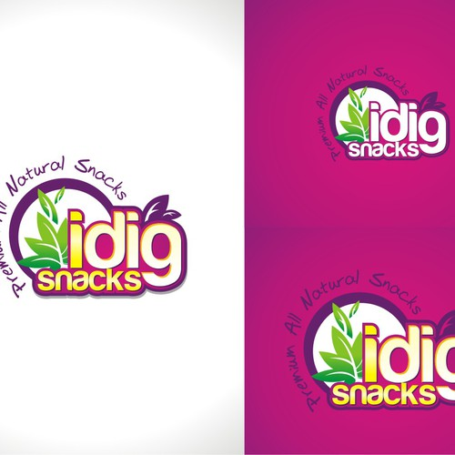 logo for I DIG SNACKS