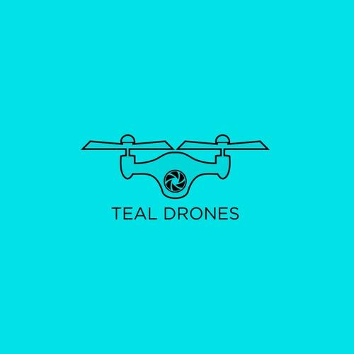 teal drones