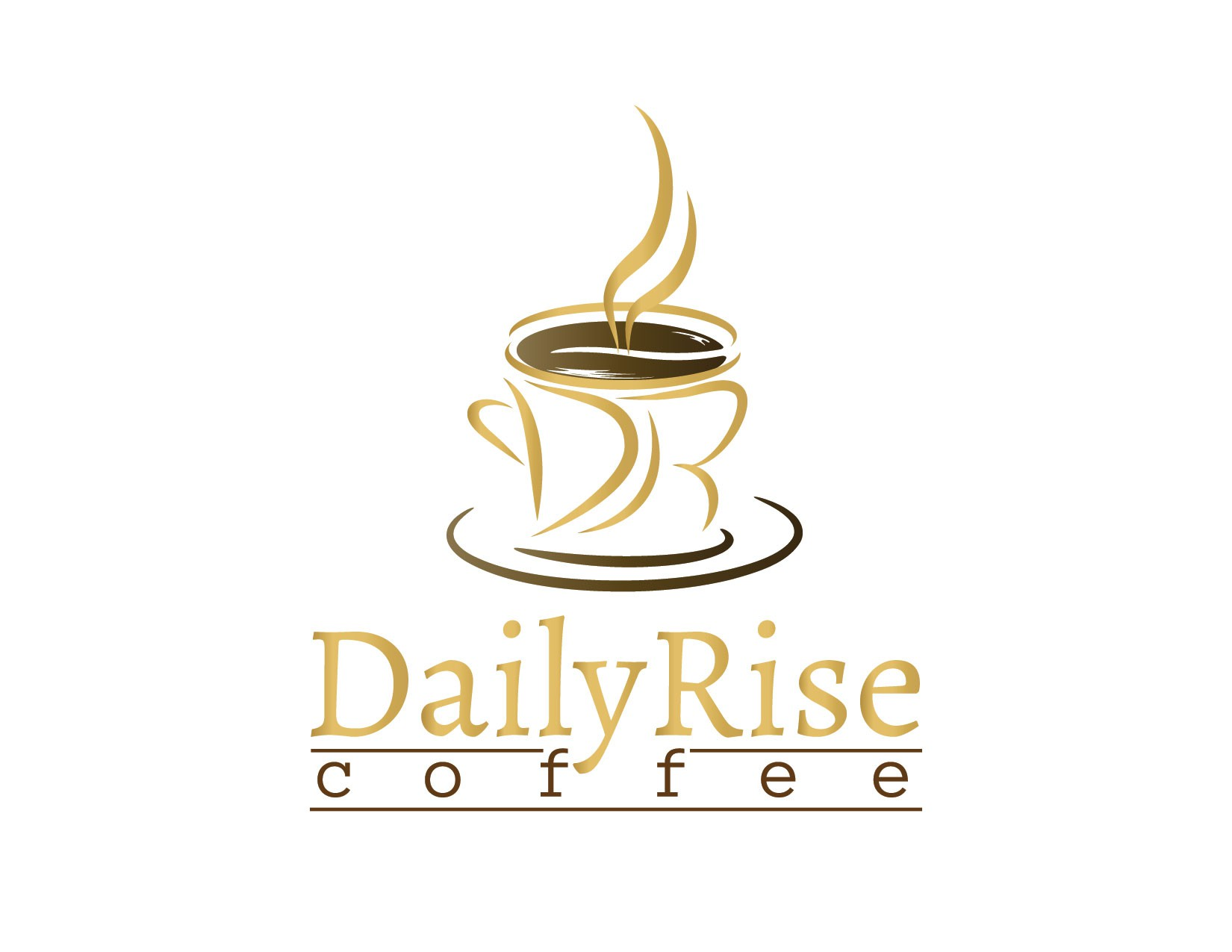 Help Daily Rise Coffee with a new logo