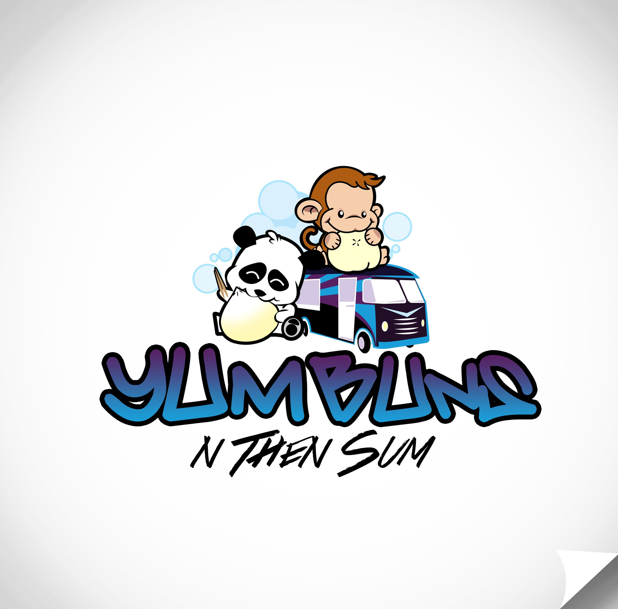Create an awesome fun logo for Yum Buns, a DC based Food Truck- Best Buns in DC ~ Logo will be featured on clothes!