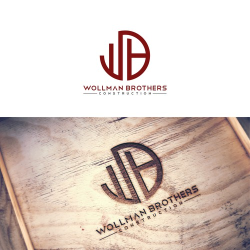 Design a simple and bold logo/name for Wollman Brothers Construction