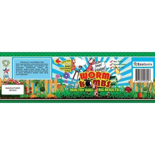 New packaging needed for gardeners worldwide!