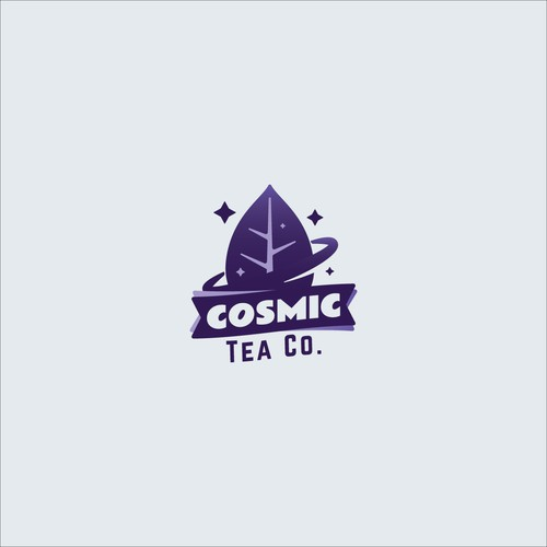 Logo concept for tea company