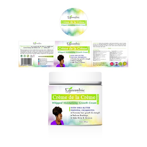 EGOCENTRIC BEAUTY, an exploding natural hair care