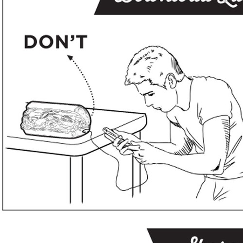 DO and DON'T about how to eat Subs