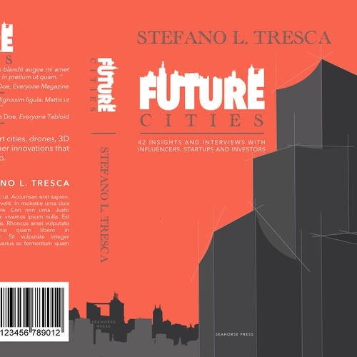 Book Cover Concept for Future Cities
