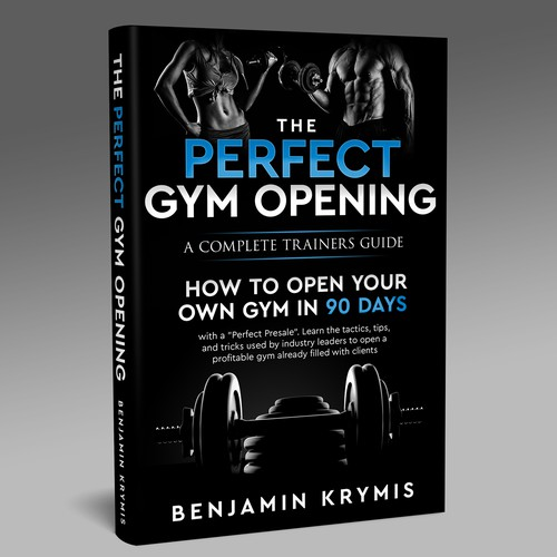 Simple Cover about Opening a Gym
