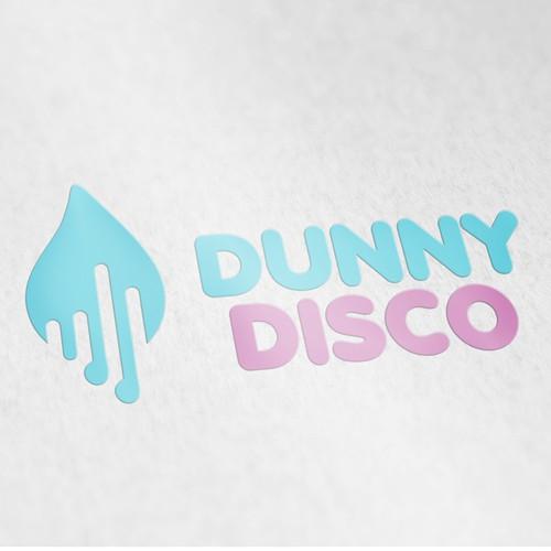 Disco dunny logo design
