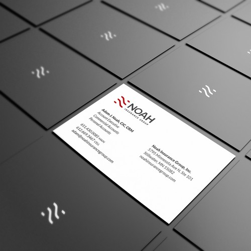 Business card proposal for NOAH INSURANCE GROUP