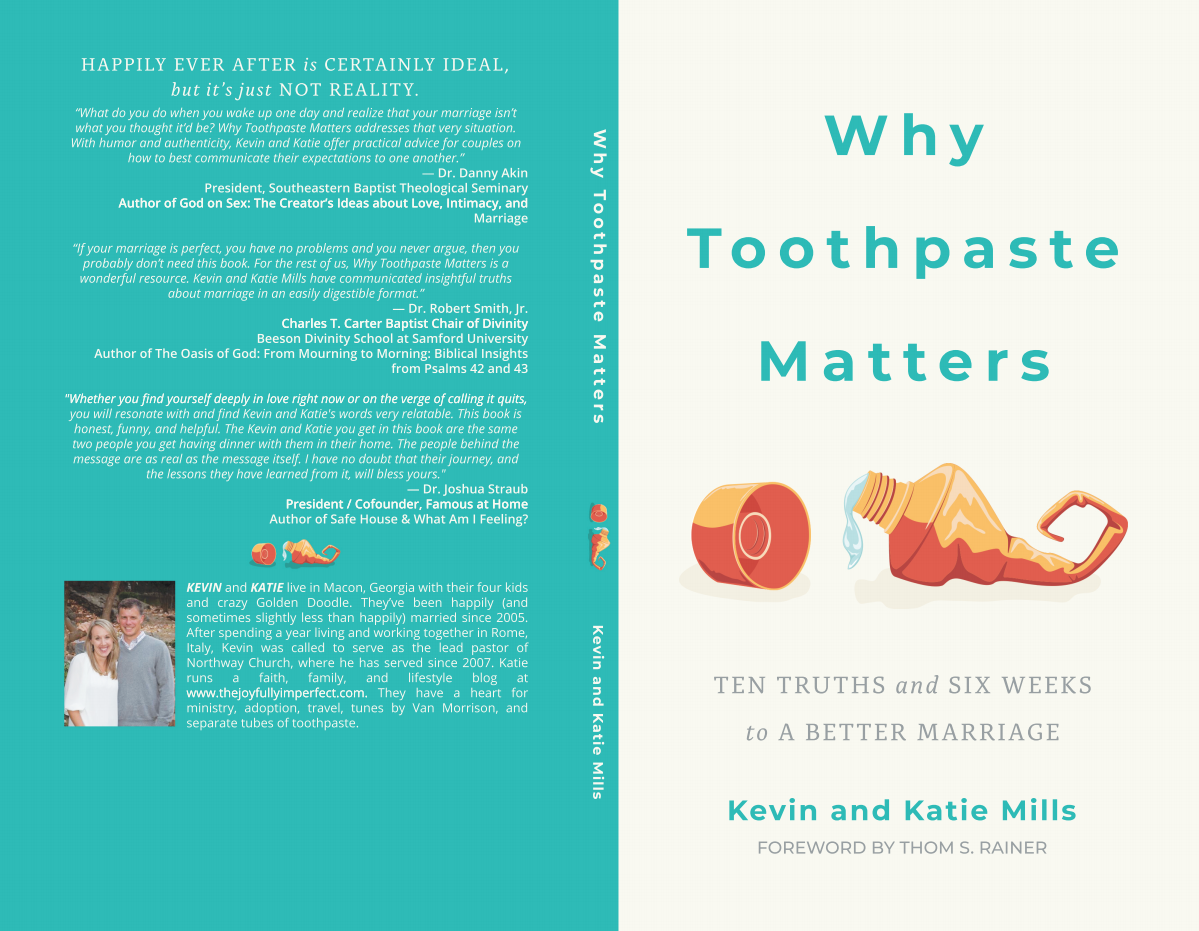 """""""Why Toothpaste Matters"""" Book Cover Design"""